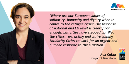 Solidarity Cities Quote Banner Ada Colau
