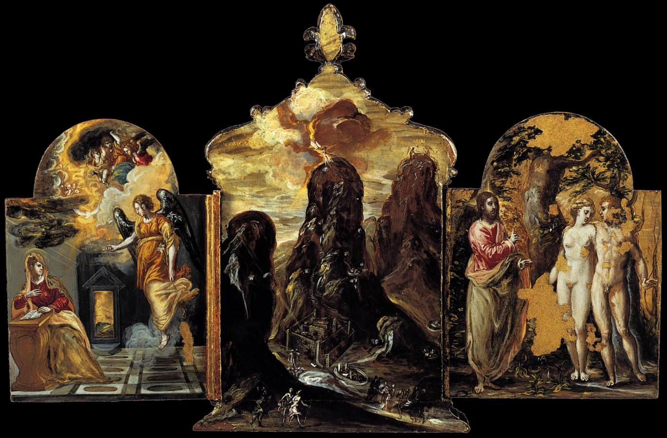 1 post The Modena Triptych
