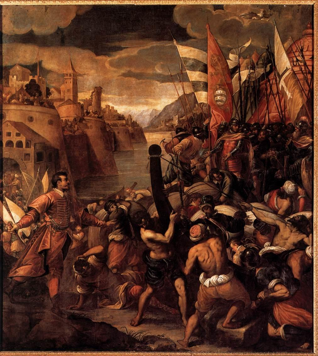8 VASSILACCHI Antonio Conquest of Tyre 1590 1